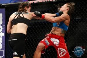 Davis vs. Carmouche Courtesy Ester LIn