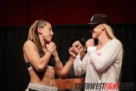 Hayes & Holm Courtesy Southwest Fight News