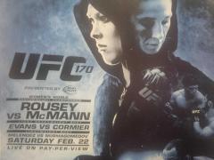 rousey mcmann ufc 170 poster
