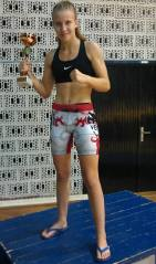 Adriana - Cup for the best female MMA fighter on World amateur MMA Championship