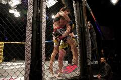 Howarth vs Kelly Courtesy Cage Warriors/Dolly Clew