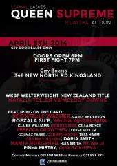 lethal ladies new zealnd april 2014