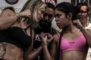 Balden & Guerreira - Courtesy Ana Stavale / MMA Super Heroes