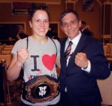 Jeff Meyer with Jessica Zomchik