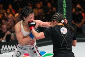 Fujino vs. Aguilar Courtesy WSOF