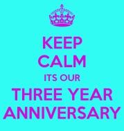 thrid anniversary