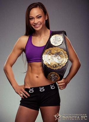 Nackt Tecia Torres  UFC 265