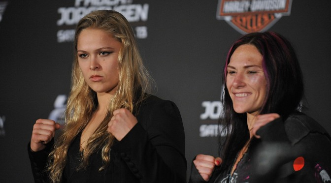 Rousey vs. Zingano Booked for UFC 182