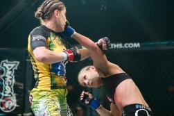 Maia vs. Bennette Courtesy Esther Lin/InvictaFC