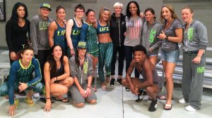 FOX Sports 1 TUF 20 cast/ Sydney Leroux/ Megan Rapinoe