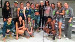 FOX Sports 1 TUF 20 cast/ Sydney Leroux/ Megan Rapinoe
