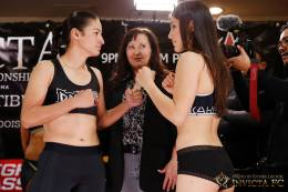 Alida Gray Alexa Grasso weigh in