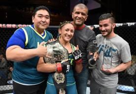 Esparza Courtesy UFC