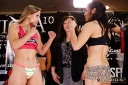 Jennifer Maia DeAnna Bennett weigh in