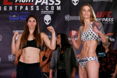 Irene Aldana and Jessamyn Duke
