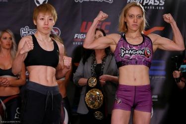 Ayaka Hamasaki and Amber Brown