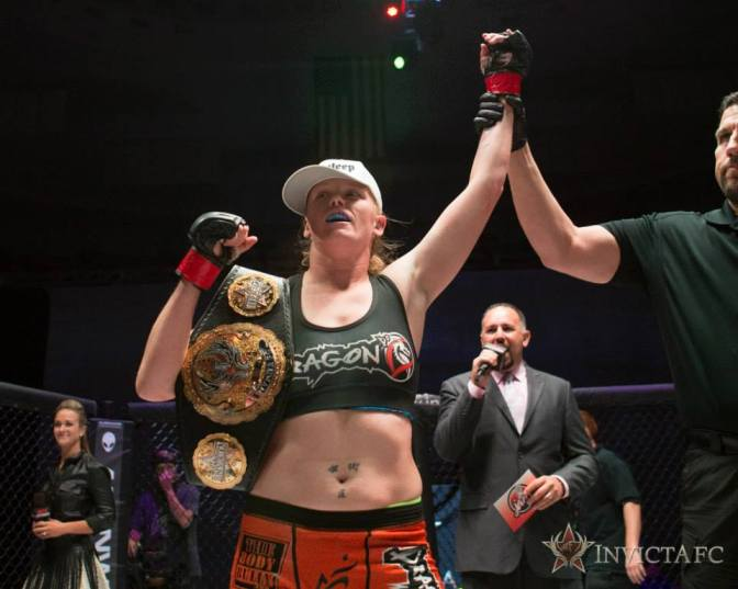 Shannon Knapp Confirms InvictaFC 17 Main Event; Talks Univision & Flyweight Division