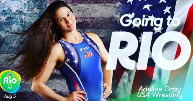 Wrestlers Adeline Gray & Elena Pirozhkova Heading to Olympics