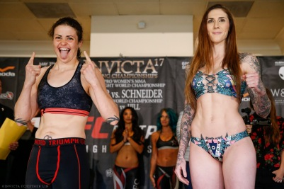 Amanda Bell and Megan Anderson