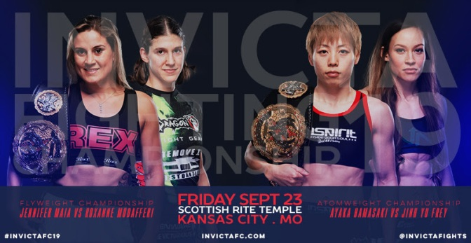 InvictaFC 19 Heads Back to Kansas City with Two Title Bouts