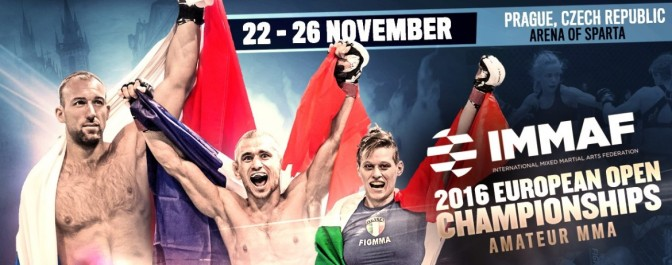 Competitors Announced for the 2016 IMMAF European Open