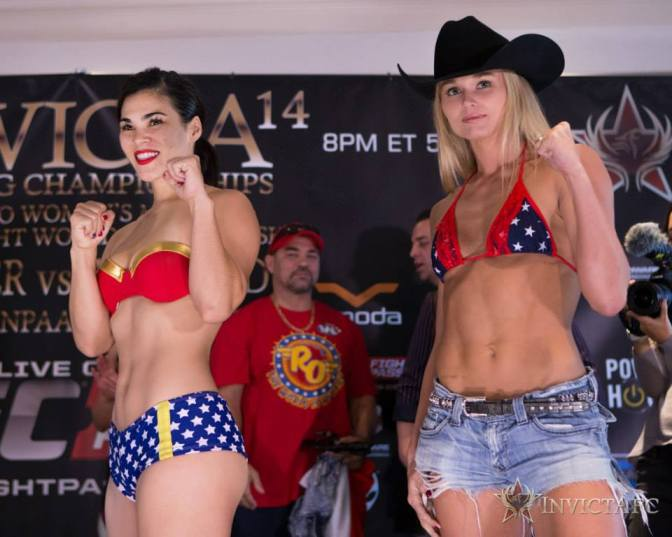 Three Bouts Round Out InvictaFC 21