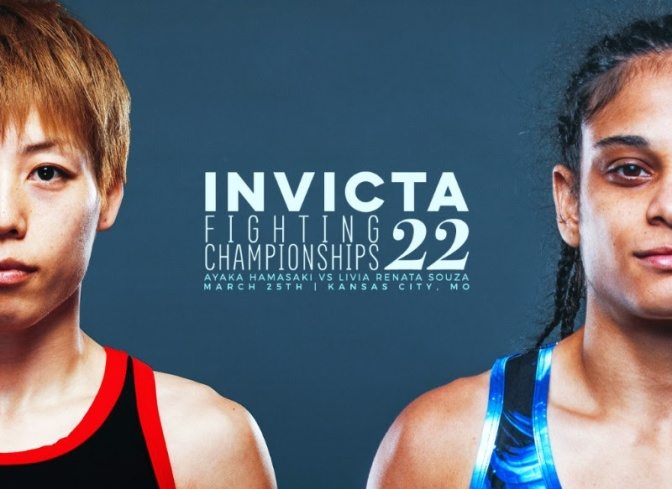 InvictaFC 22 card Shapes Up with Hamasaki vs. Souza; Bennett vs. Esquibel