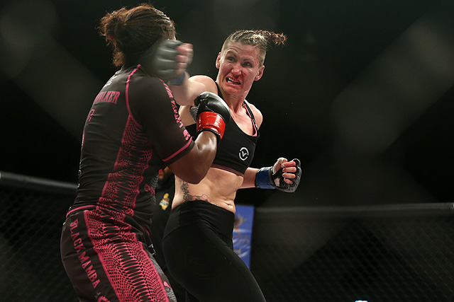 Charmaine Tweet Takes WMMA Press Knockout of the Year 2016