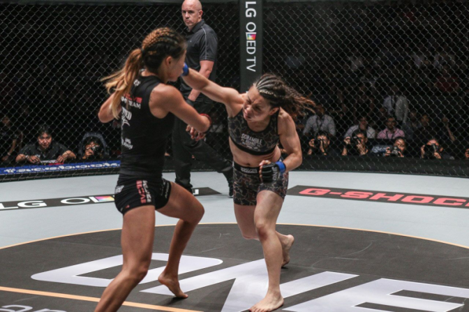 Lee vs. Yamaguchi Takes WMMA Press 2016 Fight of the Year