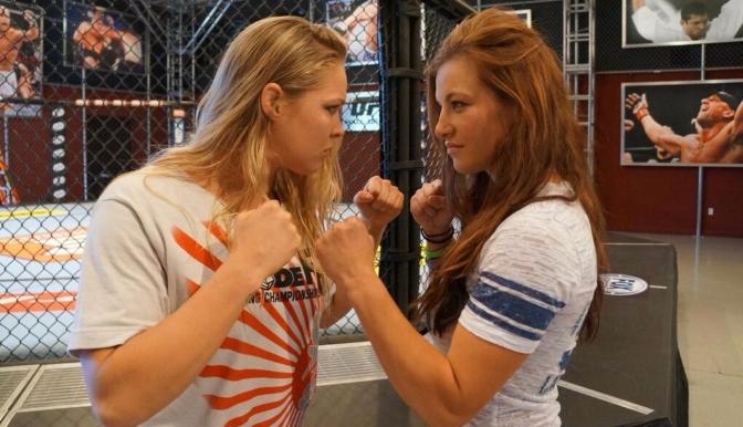 Ronda Rousey & Miesha Tate to Meet at Wrestlemania Sunday