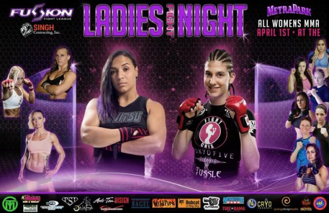 Fusion Fight League Ready for Saturday All Female Event