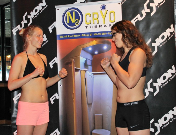 Fusion Fight League Ladies Night Results