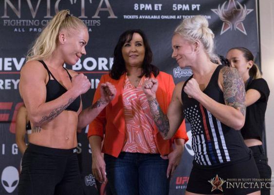 Sunna Rannveig Davidsdottir vs Kelly DAngelo