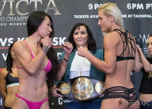 Raquel Paaluhi vs Yana Kunitskaya