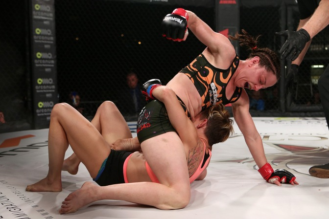 Video – InvictaFC 28 Post Fight with Jillian DeCoursey