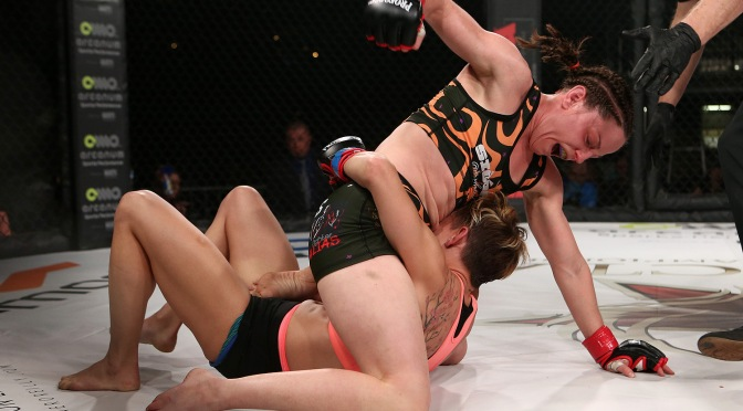 Video – InvictaFC 28 Post Fight with Jillian DeCoursey