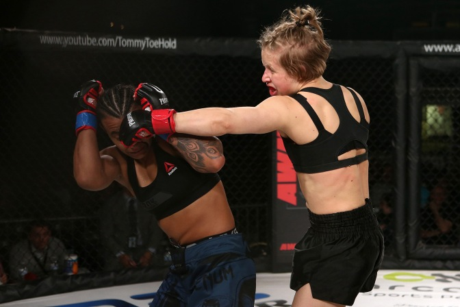 Video – InvictaFC 28 Post Fight with Minna Grusander