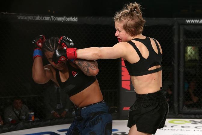 Video – InvictaFC 28 Post Fight with Minna Grusander
