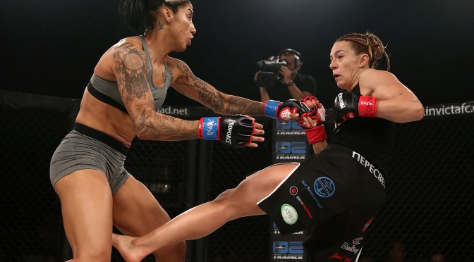 Video – InvictaFC 28 Post Fight with Milana Dudieva