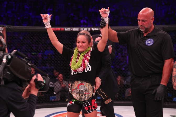 Bellator Champion Ilima-Lei MacFarlane Talks Young Guns and Title Run