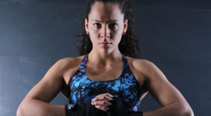 Video – Colombia's Alejandra Lara Talks MMA Growth in Latina America; Dancing in Mid Air
