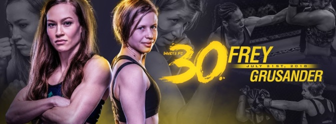 InvictaFC 30 Announces Full Line-up for 30th Event