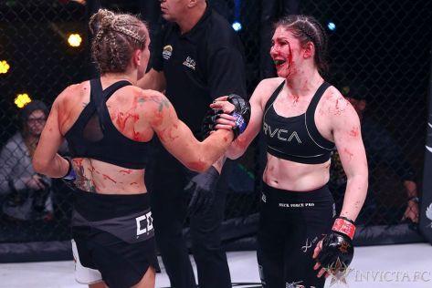 Lisa Verzosa vs. Kerri Kenneson invicta 38