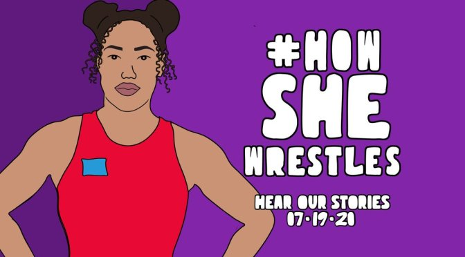 #HowShewrestles campaign kicks off watch the videos and get inspired