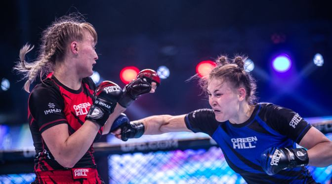 Sweden's Female Team Takes Most Medal at IMMAF World Cup