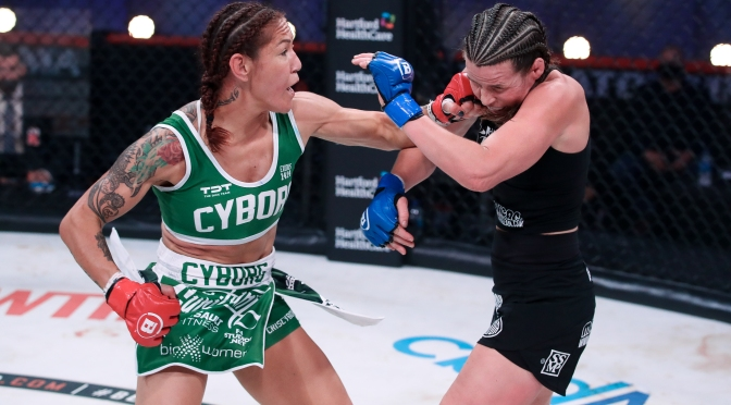 Cris Cyborg Talks Legacy; Making the Women's Divisions Better