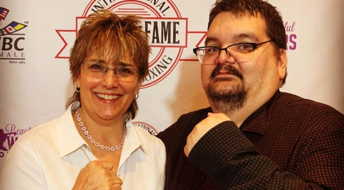 Video: Christy Martin at the IWBHOF Ceremony